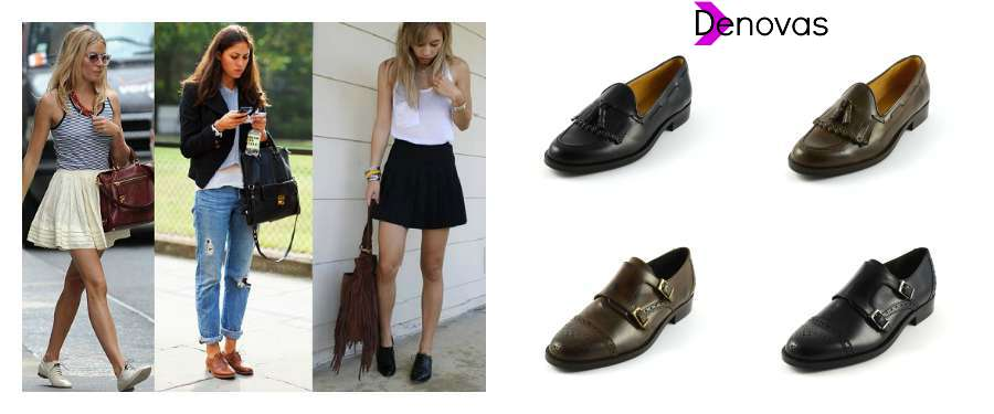 mocasines tipo oxford