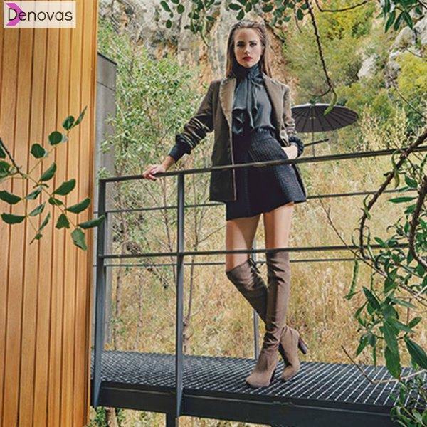 botas over the knee por envier de la rodilla en rebajas cyber monday
