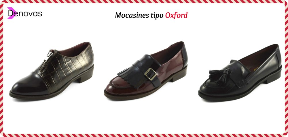 mocasines tipo oxford rebajados cyber monday online